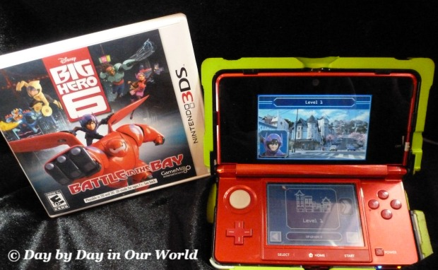 Big Hero 6 Battle in the Bay 3DS Game Purchased online from Walmart
