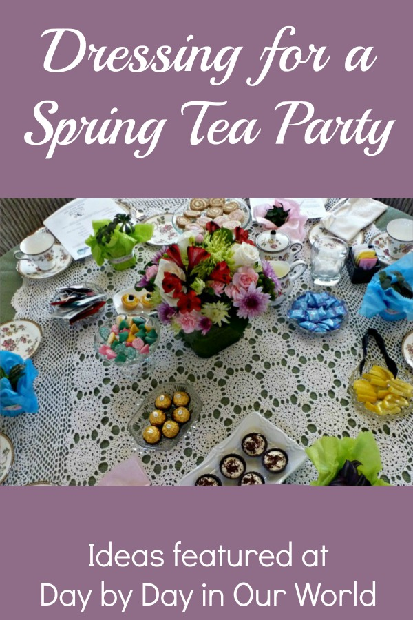 Dressing for a Spring Tea Party