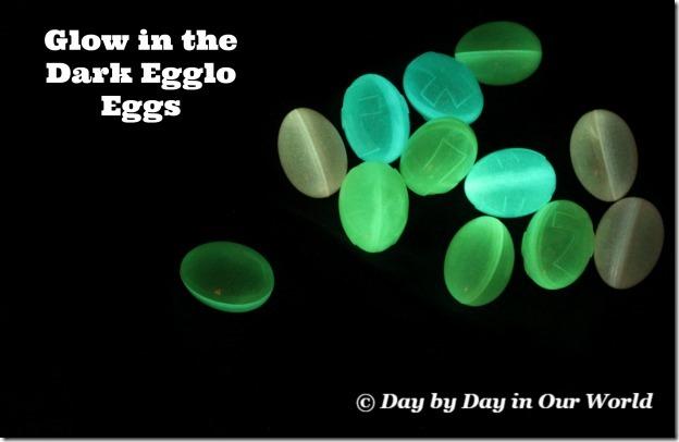 Glow in the Dark Egglo Eggs