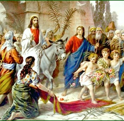 Beginning Holy Week with Palm Sunday
