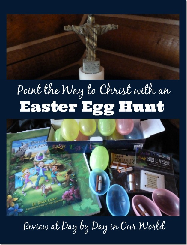 Point the Way to Christ with an Easter Egg Hunt Using Egglo Entertainment Products