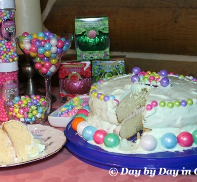 Creating a Spring Cake Using Sweetworks Candies