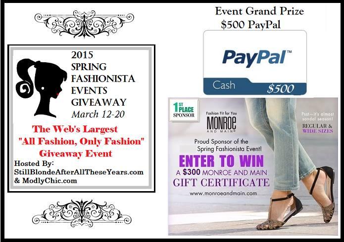 Spring Fashionista 2015 Event Grand Prize