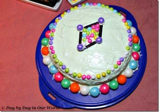 Spring Cake Close Up