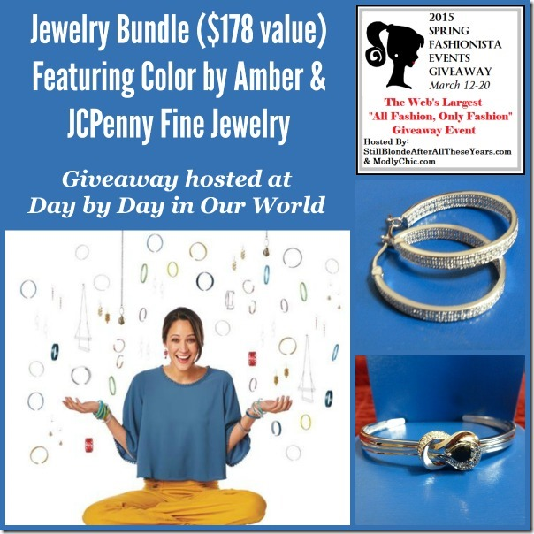 Spring Fashionista 2015 Jewelry Bundle Giveaway Hosted at Day by Day in Our World