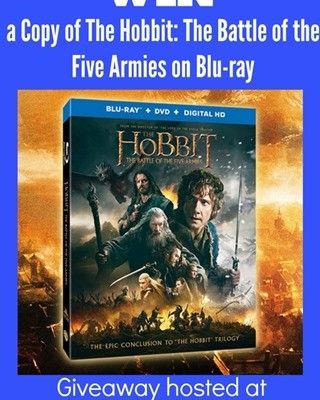 The Hobbit: The Battle of the Five Armies on Blu-ray