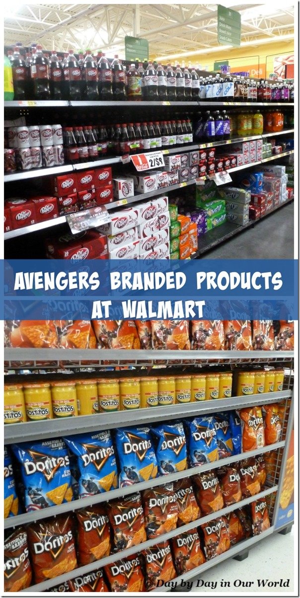 Avengers Branded Products at Walmart