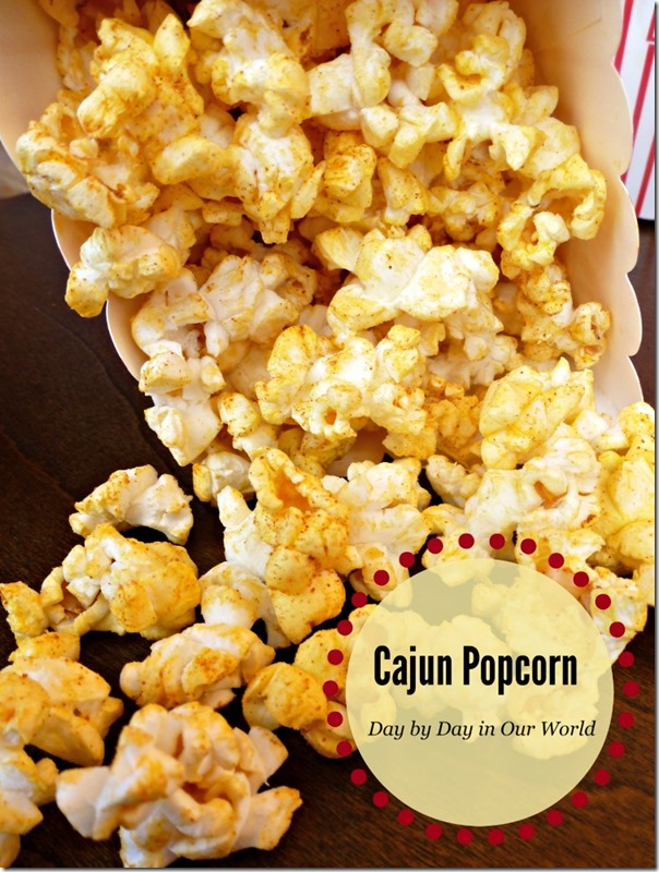 Cajun Inspired Popcorn