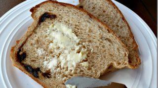 Simple Cinnamon Raisin Bread