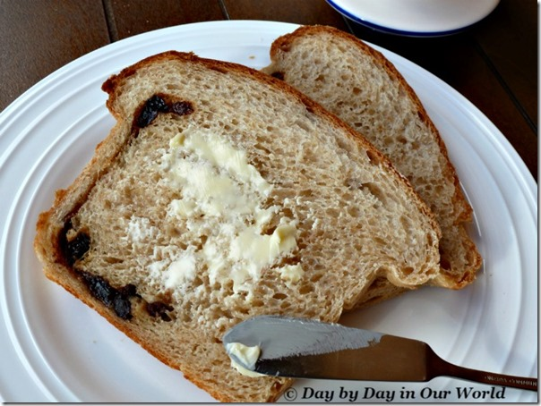Cinnamon Raisin Bread is Good With Butter
