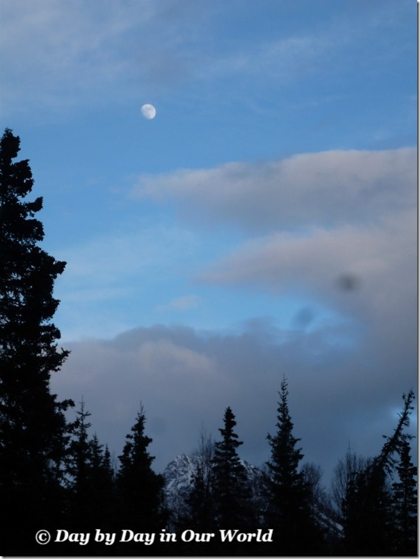 Moon Over Eagle River Valley Spring 2015