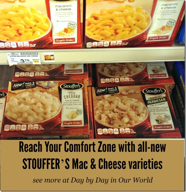 Reach your Comfort Zone with STOUFFER'S Mac & Cheese varieties