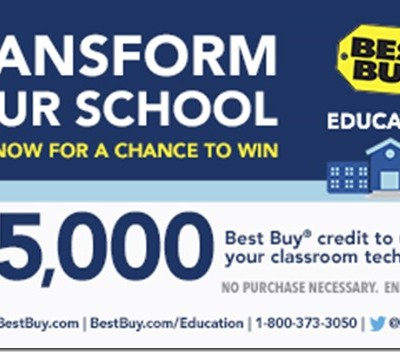 Win Technology for Your Classroom with Best Buy Education