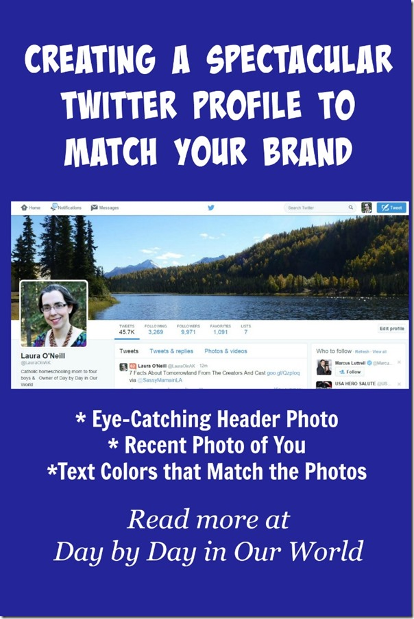 Creating a Spectacular Twitter Profile to Match Your Brand