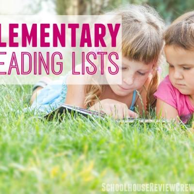 Elementary Reading List for Summertime