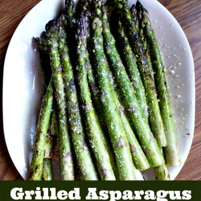 How to Make Grilled Asparagus with Parmesan