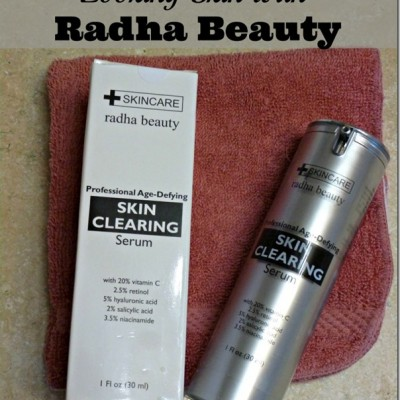 Look Younger with Radha Beauty's Skin Clearing & Anti Aging Serum