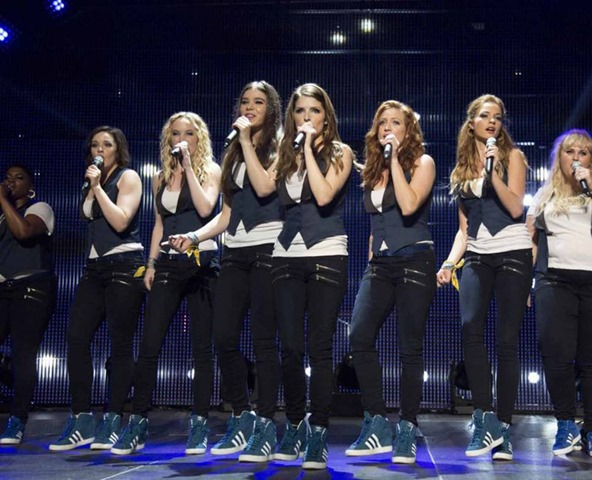 Pitch Perfect 2 On Stage