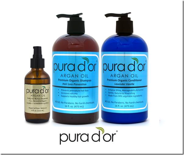 Pura Dor Argan Oil Products