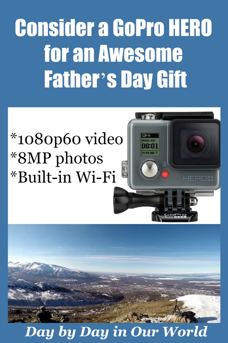 Best Buy Offers the New GoPro Hero + LCD action camera that is perfect for a Father's Day gift