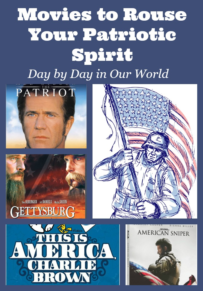 Celebrate American Holidays with one of these patriotic movies based in American History