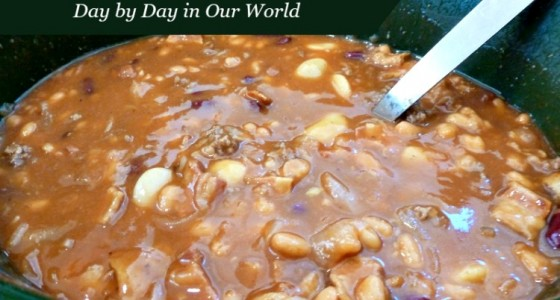 Crock-pot Bean Mix is a Hearty Dish That Disappears at Potlucks