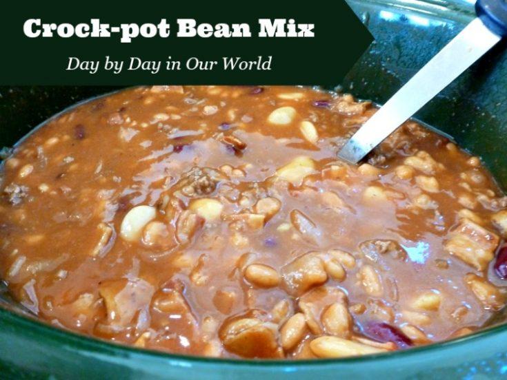 Crock-pot Bean Mix