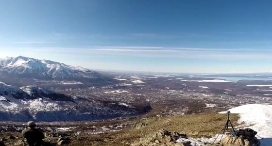 GoPro Montage from South Central Alaska Hiking  Looking Across Cook Inlet