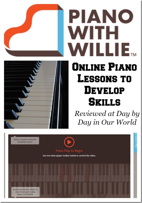 PianoWithWillie Offers Online Piano Lessons to Develop Skills