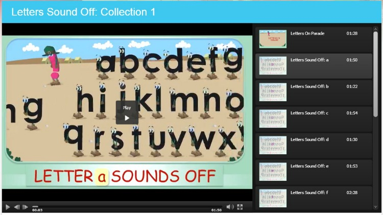 SmartKidz Media Library Animated Ebook Example For Early Readers