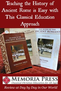 Teaching the History of Ancient Rome is Easy with This Classical Education Approach by Memoria Press