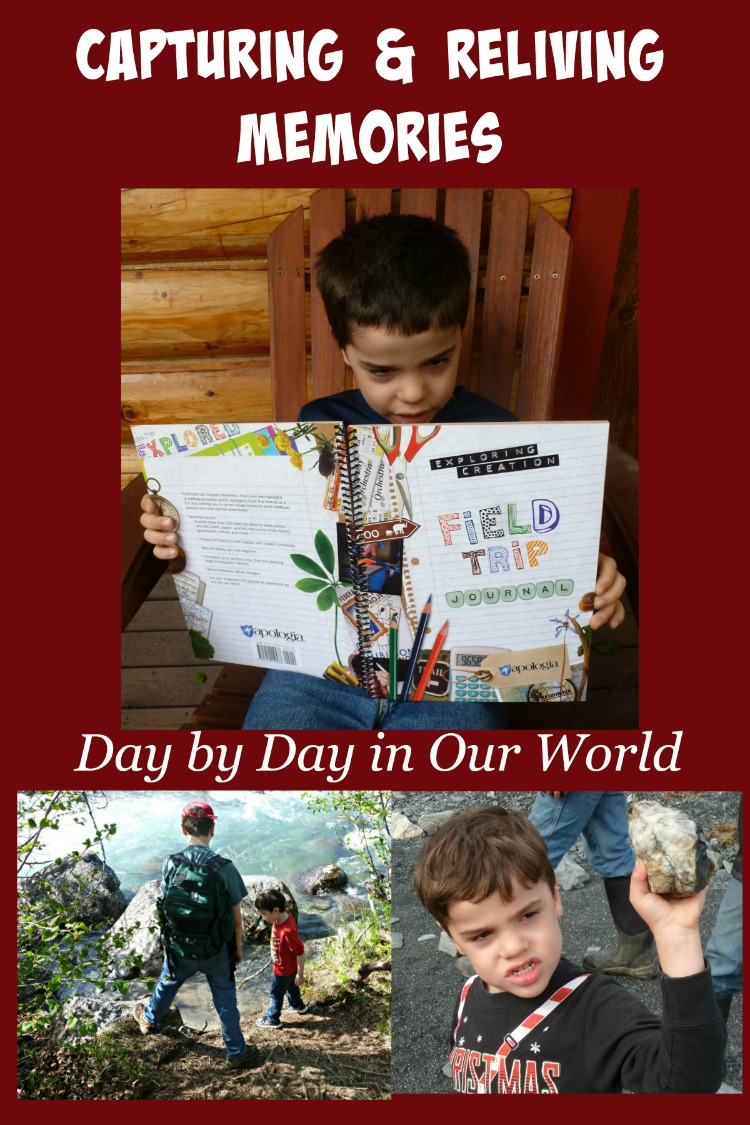 Use the Exploring Creation Field Trip Journal from Apologia to Capture Memories Now to Relive Later