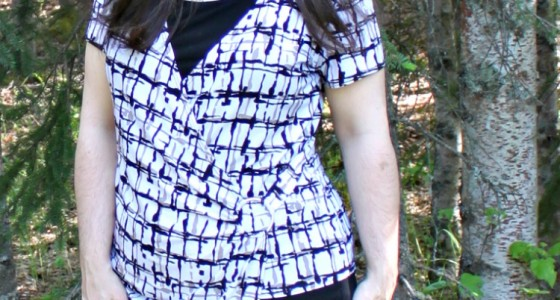 Visual Line Created by Asymmetrical Top