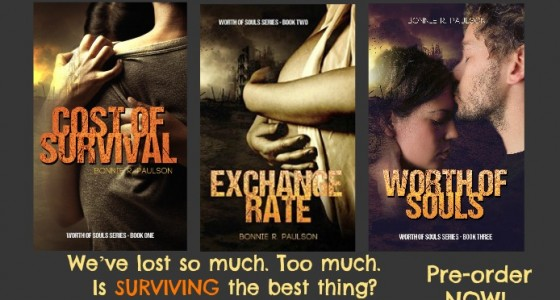 Worth of Souls Book Series by Bonnie R Paulson