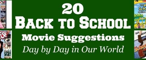 Back to School Movie Suggestions Small Featured Image