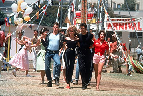 Carnival at Rydell High in Grease