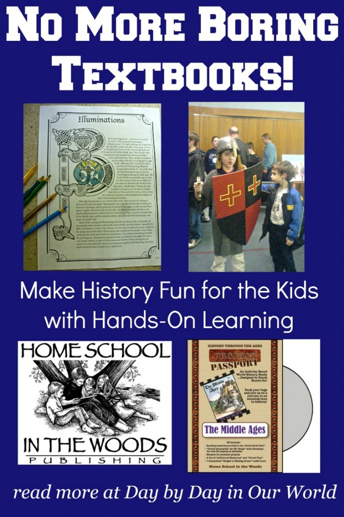 Learn How You Can Make History Fun for the Kids with Hands-On Learning from Home School in the Woods Project Passport Kits