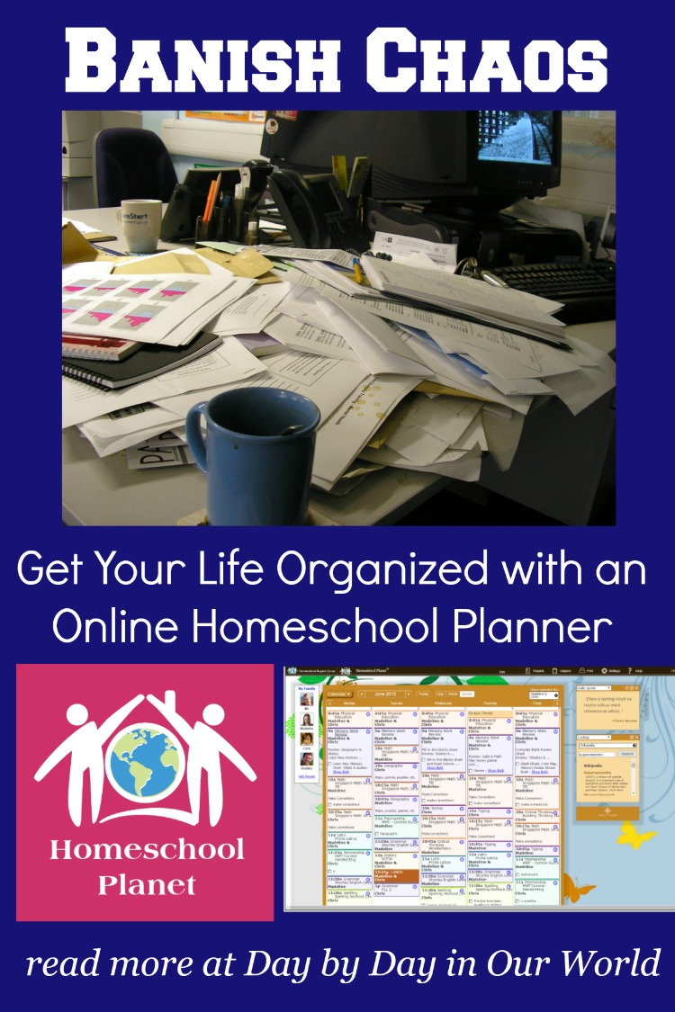 Learn how Homeschool Planet can help you organize all aspects of your life including homeschooling
