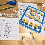 Limited Time: Free Math Activities for Minion Fans