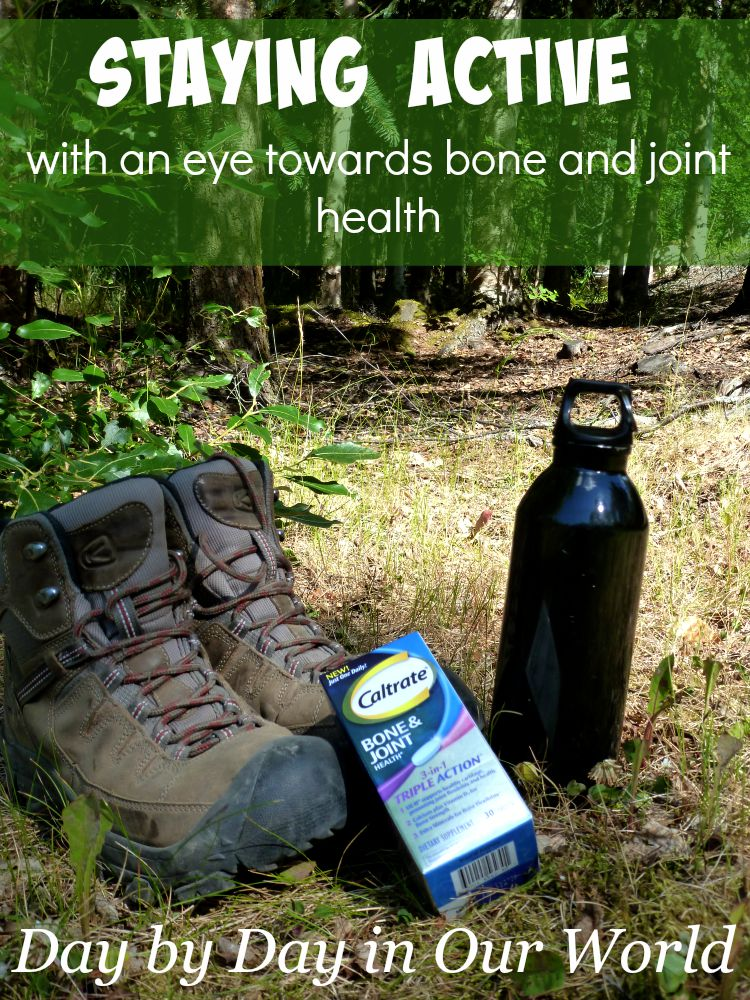 As I age, staying active with an eye towards bone and joint health is important to me