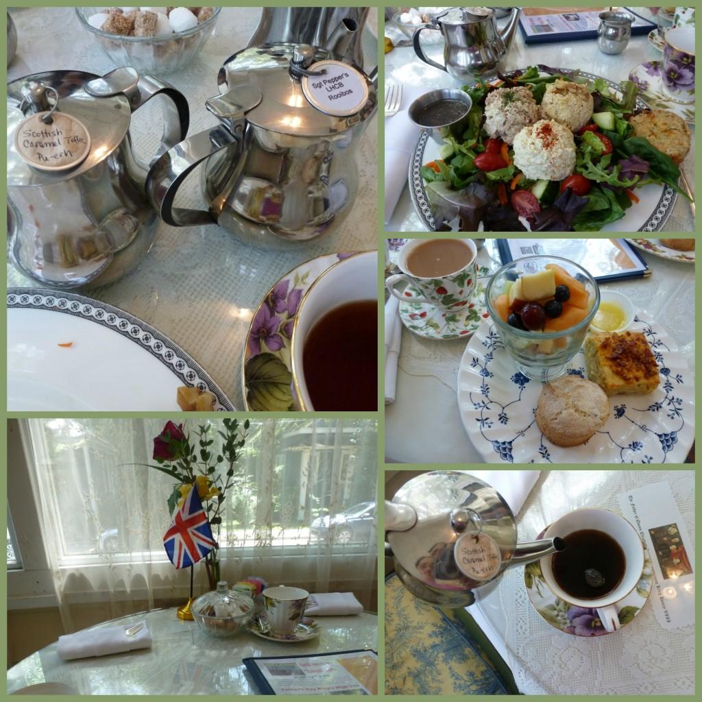 Wonderful Tea and Food at The British Tea Shop in Covington Louisiana