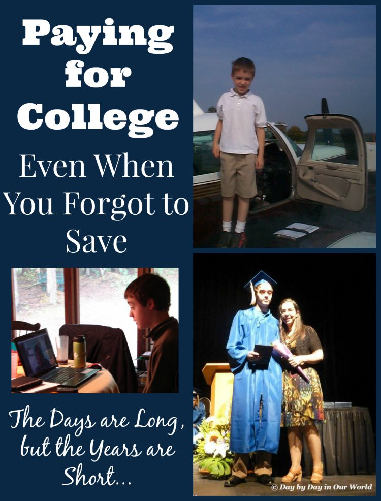 You can find ways to pay for college even if you forgot to save when the kids were young #iamprotective #CollectiveBias