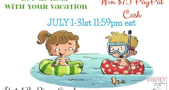 July 2015 PayPal Vacation Giveaway Open Worldwide ends July 31 $75