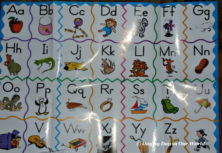Alphabet Floor Puzzle in Horizons Kindergarten Phonics and Reading Set
