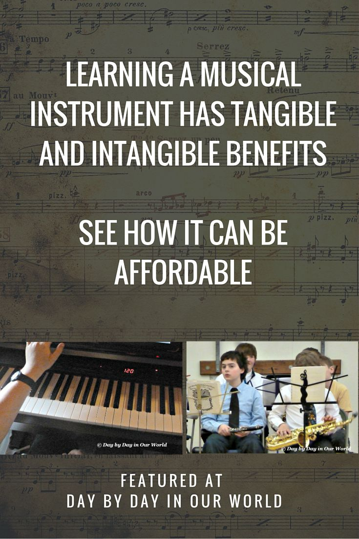 Benefits of Learning an Instrument and Making it More Affordable to do