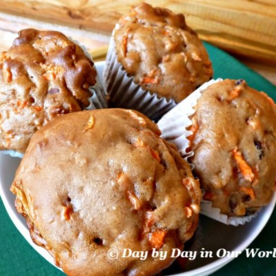 Capture a Taste of Fall with Morning Glory Muffins