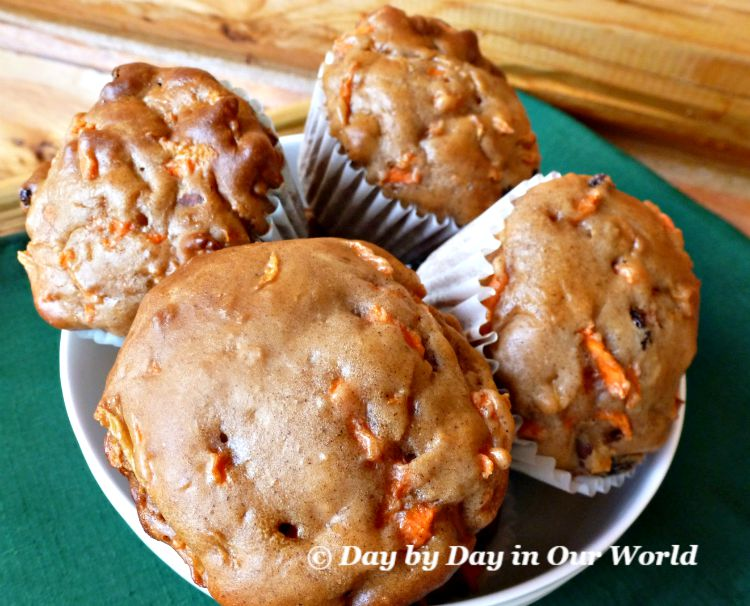 Bowl Full of Morning Glory Muffins Ready to Enjoy