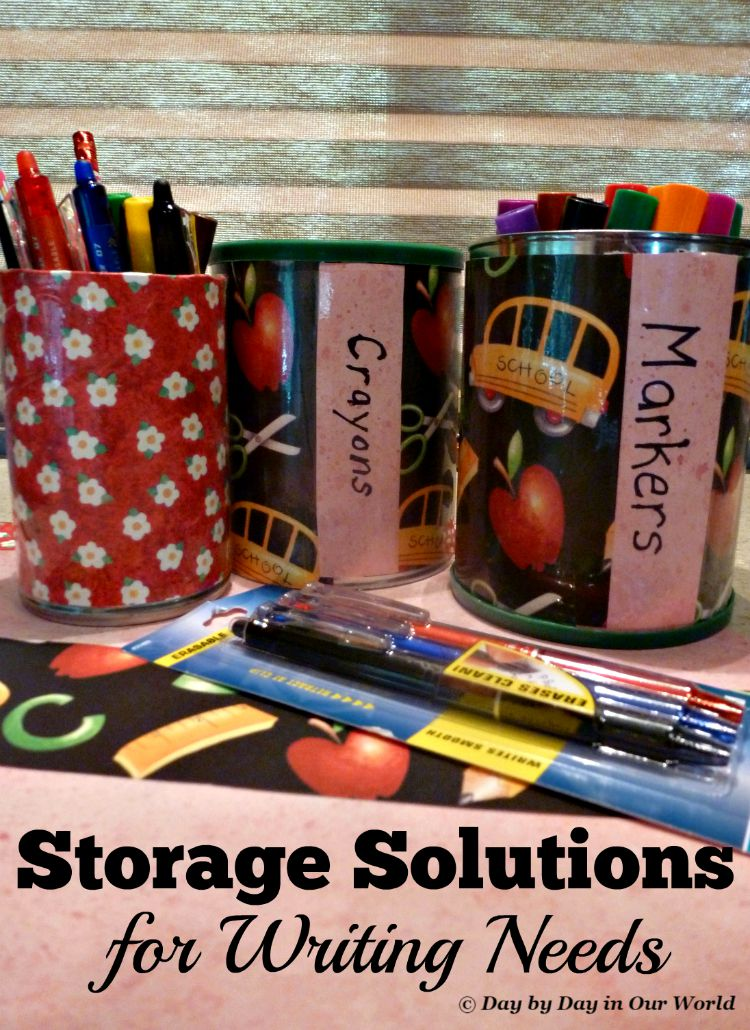 Homemade Custom Storage Solutions for Writing Needs