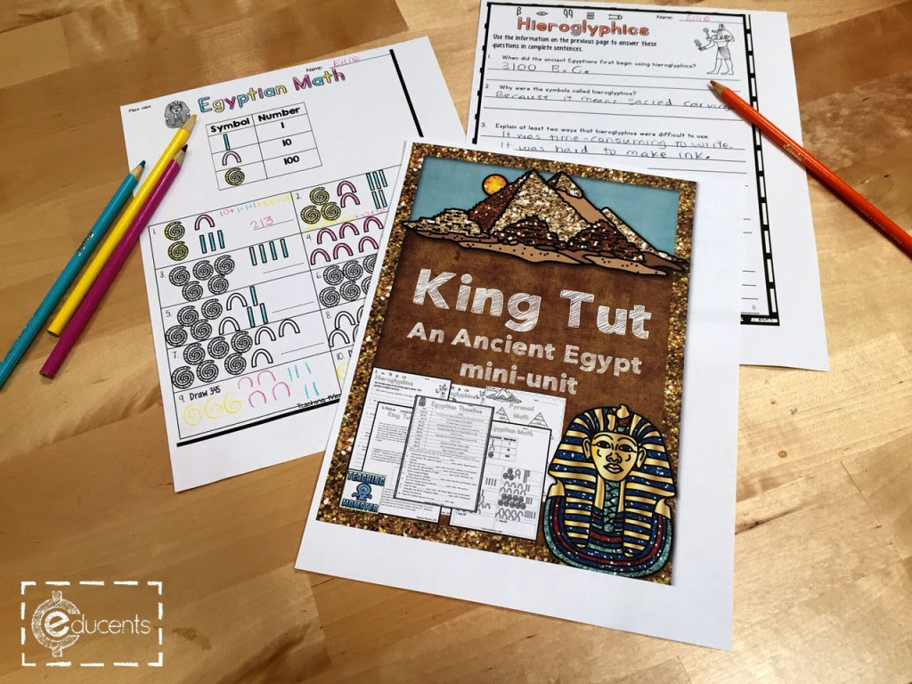 King Tut Ancient Egypt Mini Unit
