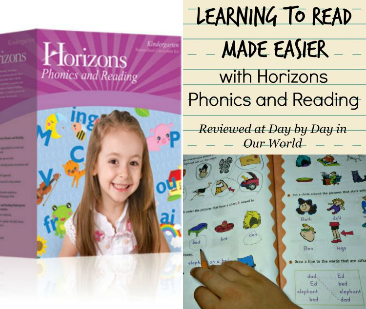 Learning to Read is Made Easier with Horizons Phonics and Reading Curriculum